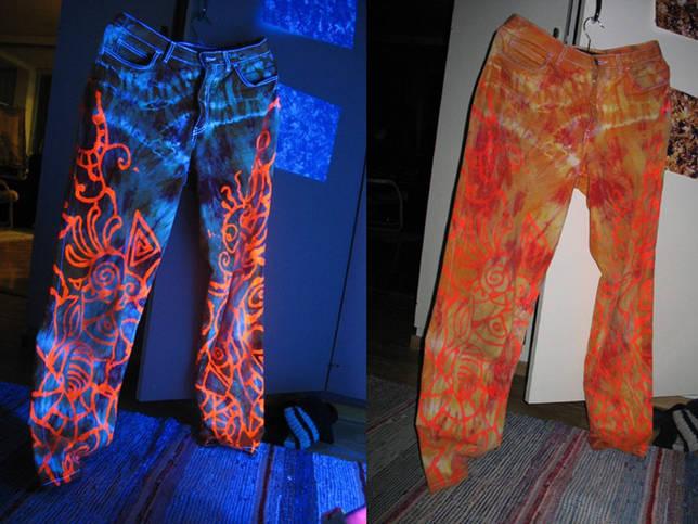 штемпельные краски на ткани